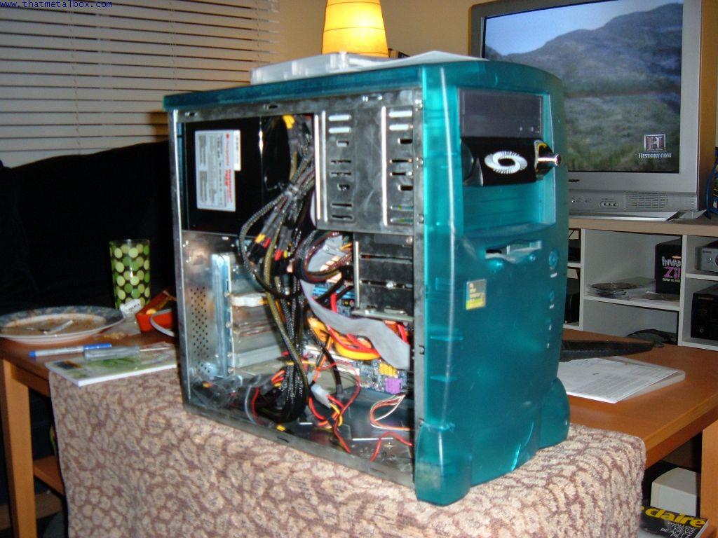 Home Theater Cmmedia E6600 Ga P35 Ds3p Media Computer Build Up