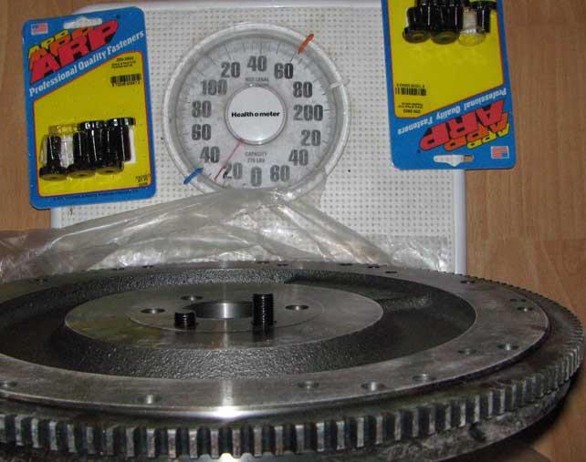 168 flywheel 28 oz imbalance